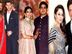 Akash Ambani Shloka Mehta's star studded pre engagement party pics