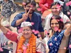 In poll campaign for AAP's Atishi, actress Swara Bhaskar woos East Delhi crowd