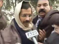 Chaos at Arvind Kejriwal's Janata Darbar in Delhi