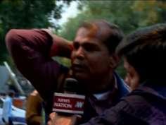 AAP, BJP workers clash in Delhi over Kejriwal