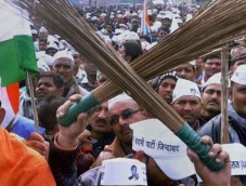 AAP protests against fuel price hike