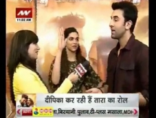 Ranbir-Deepika Tamasha on News Nation
