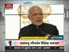 Climate change a major global challenge: PM Modi in Paris summit