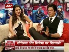 Serial Aur Cinema: Kajol is Shah Rukh's lucky mascot