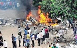Curfew imposed in North Gujarat