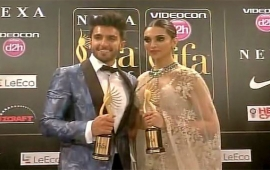 IIFA: Ranveer Singh wins Best Actor award for Bajirao Mastani