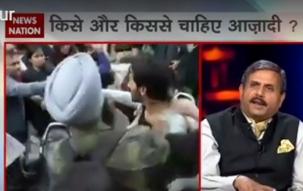 Zero Hour: Debate upon Delhi University violence