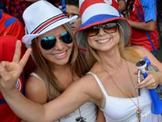 Fans at FIFA World Cup 2014