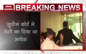 Karti Chidambarm reach CBI office in money laundering case