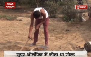 Despite winning gold medal, Rajvir Singh join his father as labourer