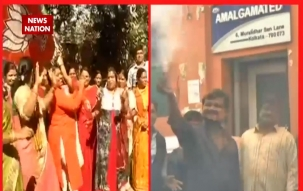 Dangal 2017: BJP workers celebrates party victory in Gujarat and HP