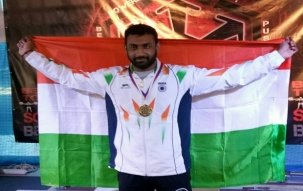 Four power-lifters killed, World Champion severely injured in road accident near Singhu border