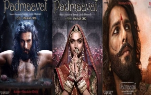 Deepika Padukone starrer Padmaavat releases , security beefed up outside cinema halls