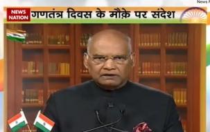 President Ram Nath Kovind address nation on the eve of Republic Day