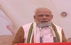 PM Modi addresses the media on inauguration of BJP headquarters