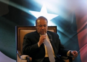 Shoe hurled at former Pakistan PM Nawaz Sharif in Lahore mosque