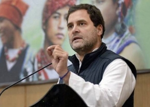 Congress plenary session: Rahul Gandhi attacks PM Narendi Modi, calls him symbol of corruption