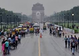 Rain lashes parts of national capital, bringing respite from heat