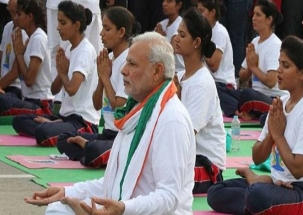 Yoga 'powerful unifying' force in strife-torn world, says PM Modi on Yoga Day