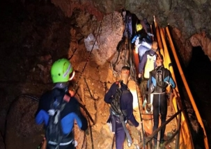 Thailand Cave Rescue: Four kids evacuated from Tham Luang cave on Day 1