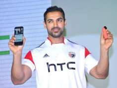 John Abraham launches HTC RE
