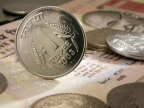 Rupee hits life-time low of 57.54 Vs dollar