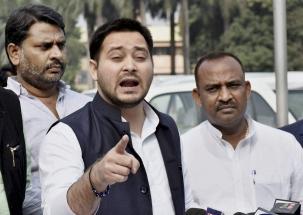 RJD leader Tejashwi Yadav says, 'even LJP isn't happy with Modiji'
