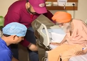 Khabar Acchi Hai: 107-year-old man undergoes hip replacement surgery