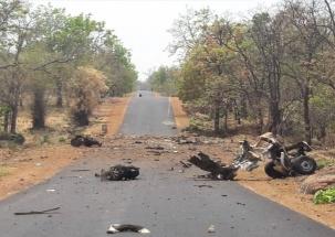 15 security men feared dead in IED blast by Maoists in Maharashtra