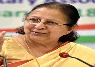 Polls 2019: Sumitra Mahajan exudes confidence of BJP victory