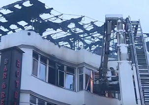 9 people killed in fire at Hotel Arpit Palace in Delhi's Karol Bagh