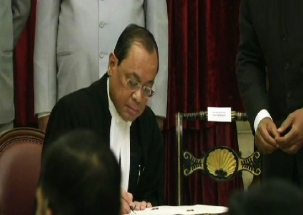 Justice Ranjan Gogoi sworn-in as 46th CJI