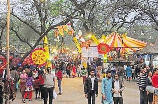 Surajkund crafts mela begins on Friday, Uttar Pradesh is the theme