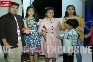 Serial Aur Cinema: Voice Kids contestants celebrates Chocolate Day with News Nation