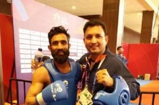 Asian Games 2018: Bronze medalist Bhanu Pratap Singh receives heart warming reception in J&K airport