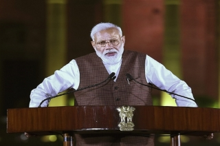 BJP MPs give me a crucial responsibility by re-electing as PM: Modi