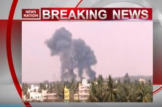 2 jets of IAF's Surya Kiran Aerobatics team crash in Bengaluru