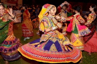 Gujarat celebrates Navratri dancing to the tunes of Garba in colourful dresses