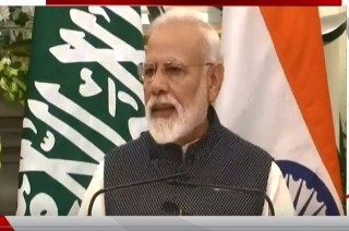 Joint PC: Modi raises Pulwama attack in presence of Saudi Crown Prince