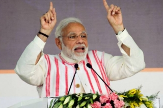 PM Narendra Modi inaugurates Western Peripheral Expressway aka KMP strech