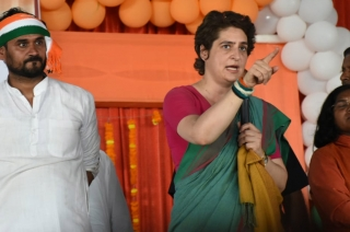 I could have sit at home but came out for the country: Priyanka Gandhi