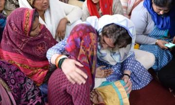We are with you: Rahul, Priyanka tell CRPF jawan's family