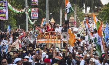 In Pictures: On Modi's turf Varanasi, Priyanka Gandhi's mega 'show of strength' gathers crowd