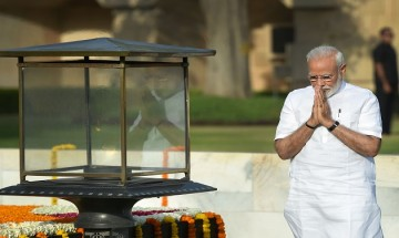 Modi Sarkar 2.0 pays tribute to Mahatma Gandhi, Atalji and martyrs before glittering swearing-in ceremony