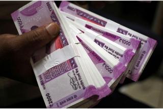 Rs 40 lakh recovered from biker in Bihar's Muzzaffarpur