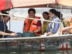 In pictures: Priyanka Gandhi's 'Ganga Yatra' from Allahabad to Varanasi