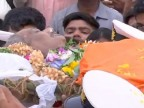 Manohar Parrikar funeral: PM Modi, Nitin Gadkari, other leaders pay tribute