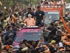 Sea of humanity throngs Varanasi roads as PM Modi holds roadshow, performs Ganga Aarti in temple town