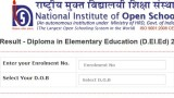 NIOS DElEd Result Declared For January 2020 Exam, Check Scorecard On dled.nios.ac.in