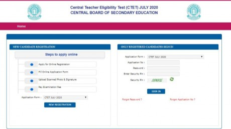 CBSE Extends CTET July 2020 Application Date, Check At ctet.nic.in